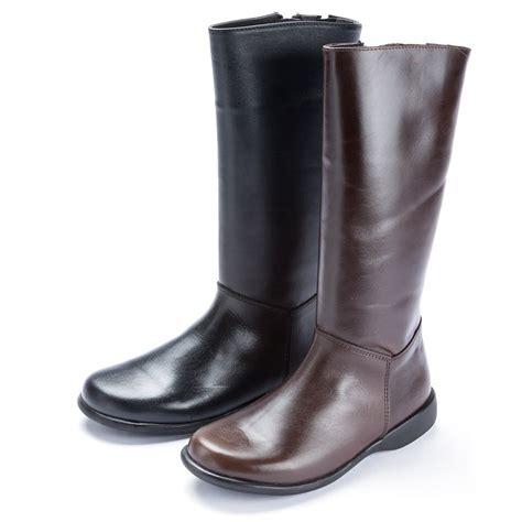 imagenes de botas rockeras para mujeres botas altas piel lisas botas baratas para ni 241 as y mujer