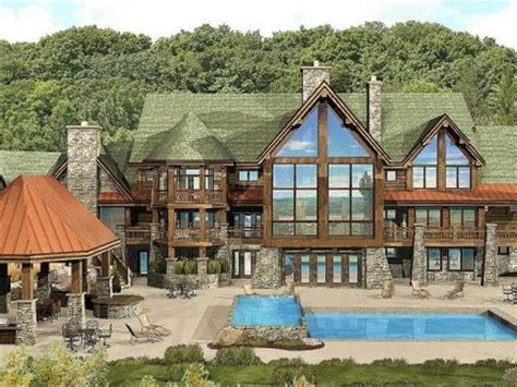 custom log home floor plans luxury log cabin home plans custom log homes luxury log