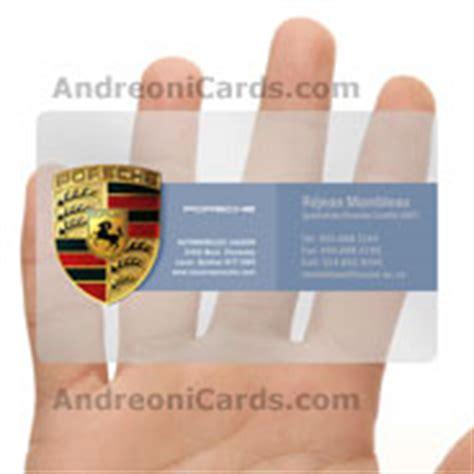 Porsche Business Card