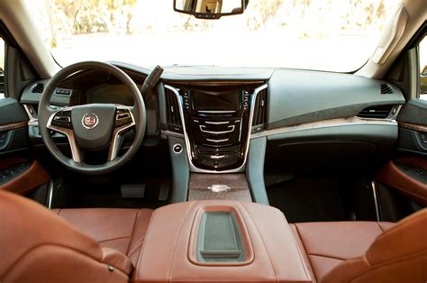cadillac escalade 2015 interior 2015 cadillac escalade reviews and rating motor trend