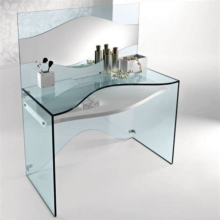 China Glass Dressing Table Kx 01 China Tempered Glass Glass Dressing Table