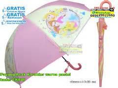 Kipas Karakter Panda payung anak pelangi souvenir pernikahan