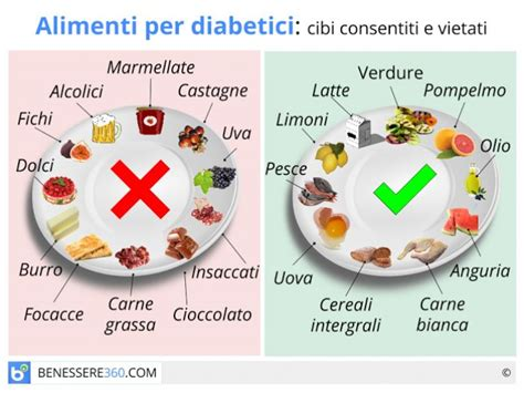 alimentazione con diabete alimenti per diabetici cibi consigliati e cibi da evitare