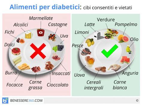 alimenti per i diabetici alimenti per diabetici cibi consigliati e cibi da evitare