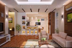 Interior Design Kitchen Living Room Interior Rendering By Vu Khoi