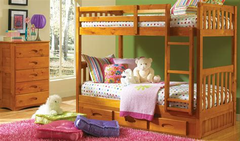 Factory Bunk Bed Atlantic Furniture Columbia Staircase Bunk Bed With 2 Raised Panel Bed Drawers