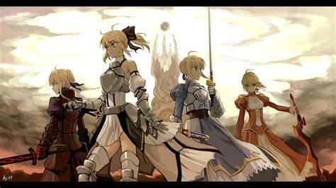 anime fate zero fate series fate stay night saber