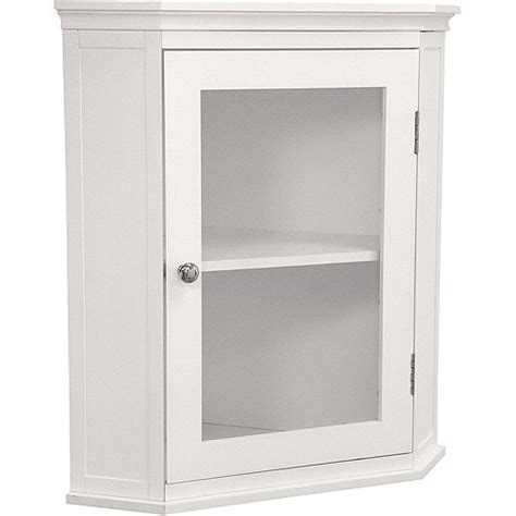 Walmart Wall Cabinet by Collection Corner Wall Cabinet White Walmart