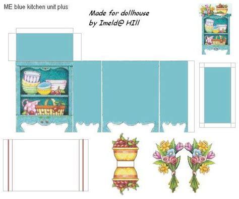 printable dolls house miniatures dollhouse kitchen dollhouse miniatures printables