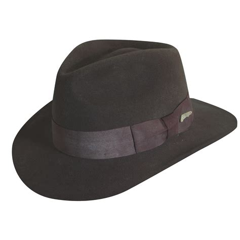 Fedora Hats indiana jones wool felt fedora hat explorer hats