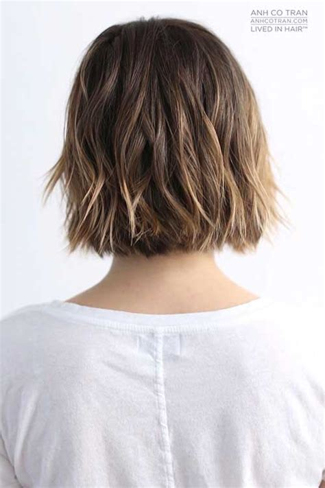 vies of side and back of wavy bob hairstyles pics of bob haircuts back view bob hairstyles 2017