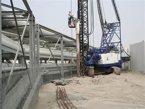 pipe rack foundation design piled foundation for pipe rack system for pof gulf foundation fze