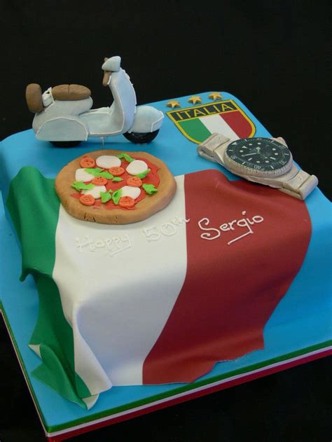themed birthday cakes soweto italian themed birthday cake vespa rolex pizza cakes