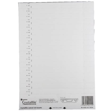 rexel card holder template rexel crystalfile 330 lateral file inserts for lateral