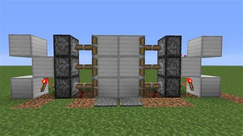 Piston Door Minecraft by Simple Piston Door Minecraft Project