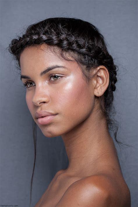 crown twist braid on african hair braided headband updo hairstyle tutorial fab fashion fix