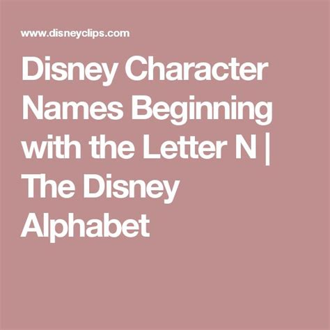 3 Letter Character Names Top 25 Best Disney Character Names Ideas On Characters Names Disney