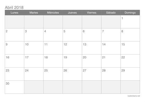 calendario noviembre 2017 para imprimir icalendario net calendario mensual para imprimir gratis calendario abril