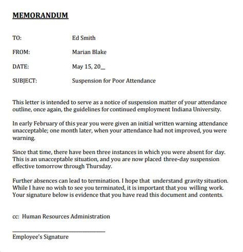 exle of a formal memorandum letter 11 formal memorandum templates free sle exle format