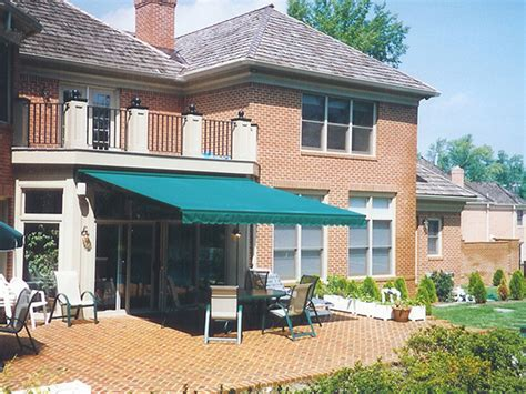 sunair retractable awnings retractable patio deck awnings nationwide sunair maryland
