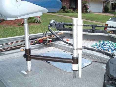 boat pedestal umbrella holder looking for some shade added bonus to the add a seat