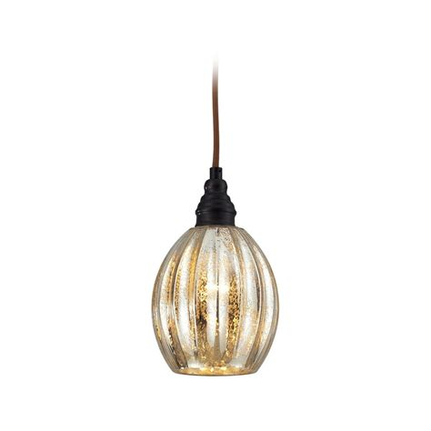 Mini Glass Pendant Lights Mini Pendant Light With Mercury Glass 46007 1 Destination Lighting
