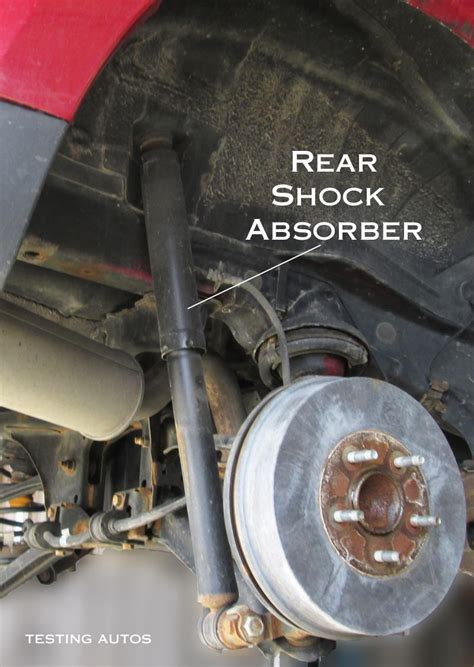 how to install replace rear shocks 2007 13 chevy silverado when struts and shock absorbers should be replaced