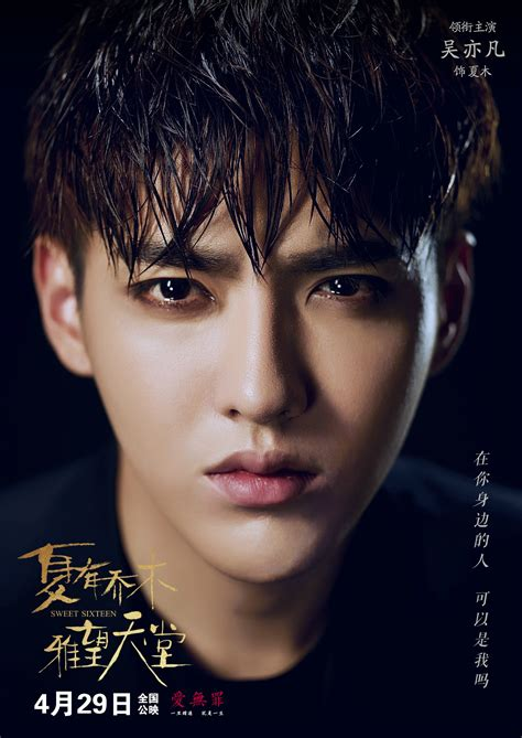 film terbaru kris wu 2016 04 29 夏有乔木雅望天堂 人物海报 导演 赵真奎 movie poster