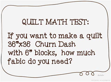 quilt math do you fears of basic quilt math