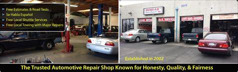 brake light repair near me rodas auto repair shop rancho cucamonga ca 91730