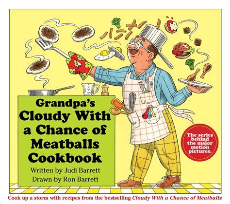 left to chance a novel books s cloudy with a chance of meatballs cookbook
