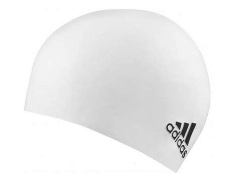 Silicon Logo Black by Adidas Logo Silikon Badekappe White Black