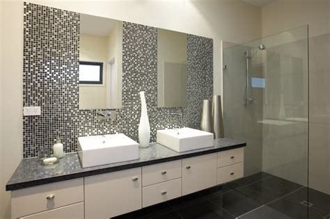 metallic bathroom tiles metallic bathroom tile idea ensuite in the hotondo homes