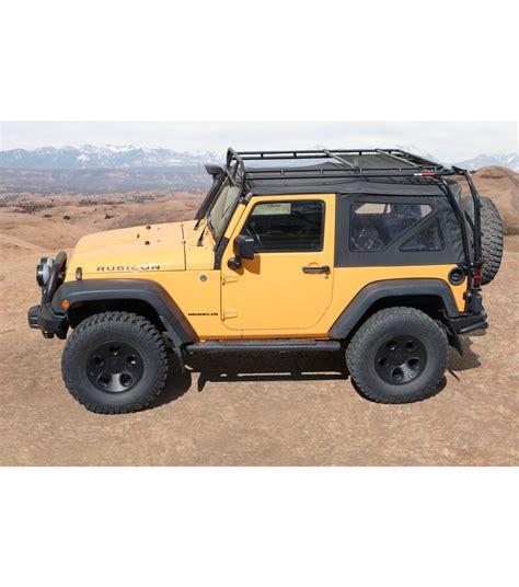 jeep ranger jeep jk 2door 183 ranger rack 183 multi light setup gobi racks