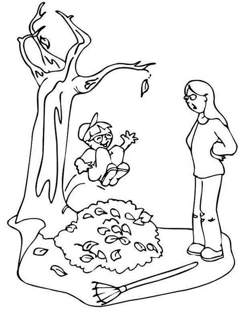 leaf pile coloring page a pile of books coloring page book pages open clip sketch