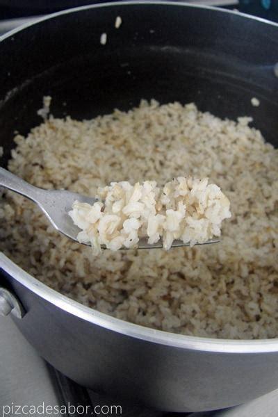 arroz integral como cocinar c 243 mo cocinar arroz integral f 225 cil