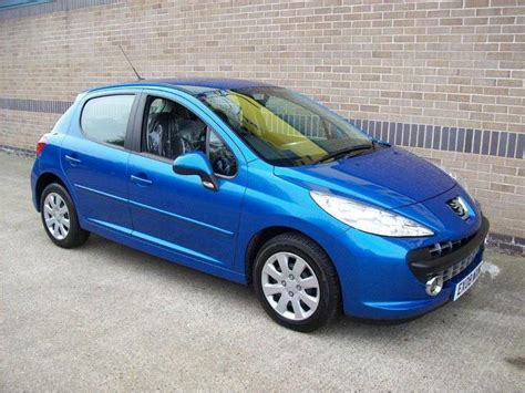 blue peugeot used peugeot 207 for sale in norwich uk autopazar