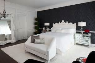 Black And White Wallpaper Bedroom Design Papier Peint Noir 40 Id 233 Es Pour Un Design Mural