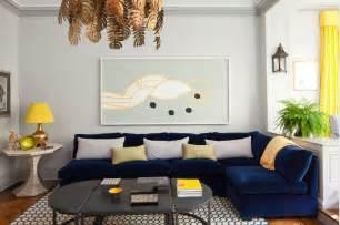 amanda nisbet navy blue velvet sofas furniture