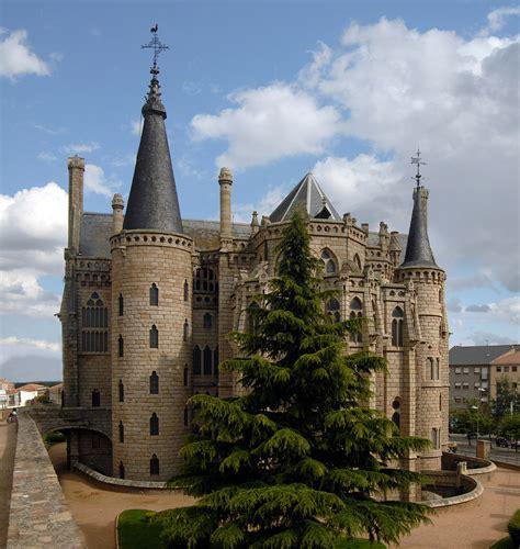 Spanish Houses Episcopal Palace At Astorga Spain Photo On Sunsurfer