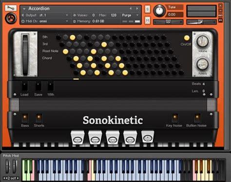 Sound Library Kontakt sonokinetic accordion sound library for ni kontakt