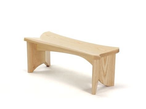 low wooden bench nico yektai smallest bench small modern bench