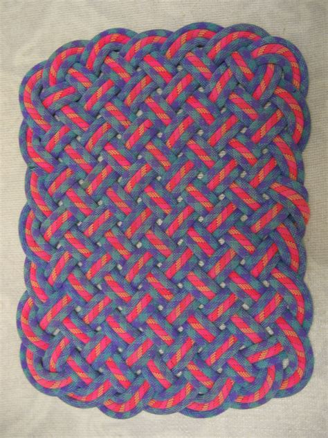 climbing rope rugs rugs made from used climbing ropes