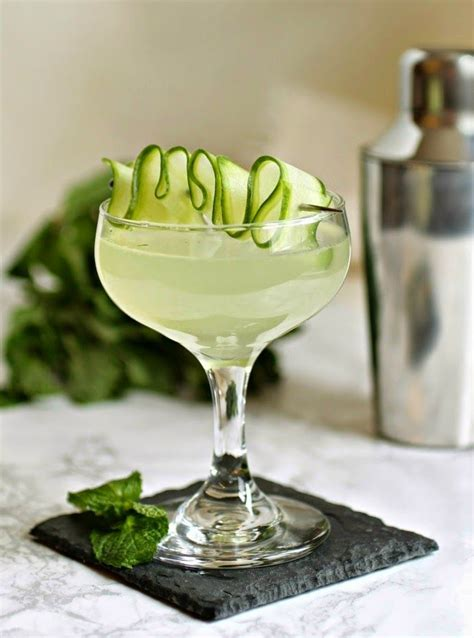 martini mint cucumber mint martini 健康