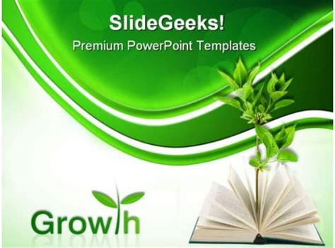 book  plant business powerpoint templates