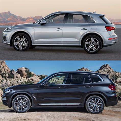 Audi X3 by Photo Comparison 2018 Audi Q5 Vs 2018 Bmw X3