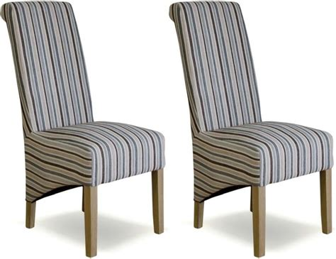 Striped Dining Chair by Buy Homestyle Gb Richmond Striped Fabric Dining