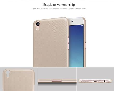 Oppo F1 Plus R9 Back Cover Nillkin Frosted Shield Ori Black oppo r9 plus nillkin frosted shield back cover for oppo r9 plus ebay