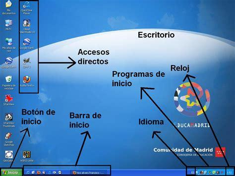 imagenes de windows 10 y sus partes partes del escritorio de windows tico alvaro francisco