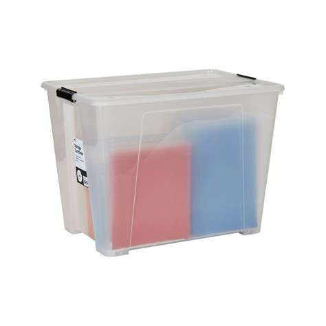 clear plastic storage container bulk buy 5 x keji 120l plastic storage container clear